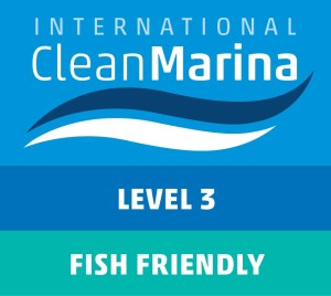 Level 3 Clean Marina and Fish Friendly Accreditation