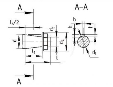 Цилиндрический крановый редуктор РК-500, РК-600