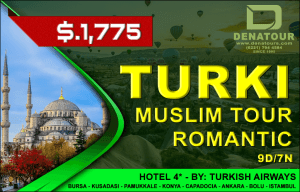package turki muslim tour romantic denatours