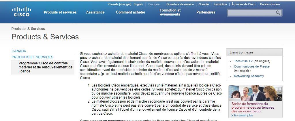 RANDRIARIMALALA Herinavalona dénature le contenu d'une attestation claire de CISCO tout en violant l'article 2 du code de concurrence à Madagascar