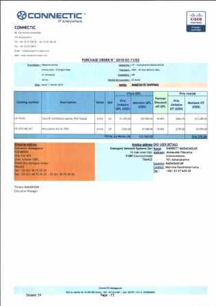 RANARISON Tsilavo ont signé les bons de commande de EMERGENT pour WESTCON Africa_Page12