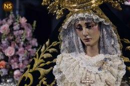 Virgen del Carmen Doloroso. Besamanos 2017   Javier Fortúnez
