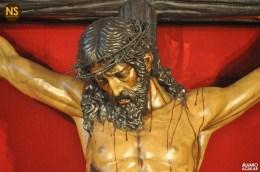 Cristo de las Almas, los Javieres. Besapiés 2017   Álvaro Aguilar