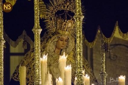 Virgen de la Cabeza. Las Siete Palabras. Miércoles Santo 2017 | Baltasar Núñez