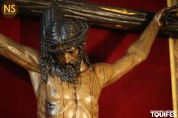 Cristo de las Almas, los Javieres. Besapiés 2017   Tomás Quifes