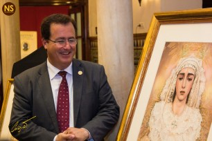 Cartel de la coronación de la Salud de San Gonzalo   José Carlos Casquet