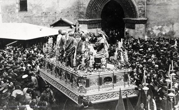Misterio de la Cena en Omnium Sanctorum de 1928 | Legado Turina