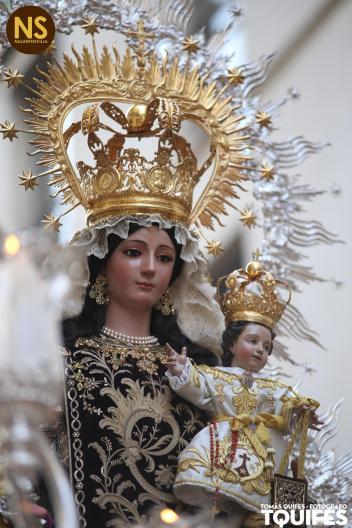 Carmen del Santo Ángel. Procesión 2017 | Tomás Quifes