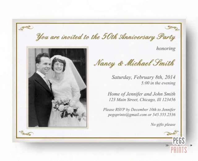 25Th Wedding Anniversary Invitations Perfect Silver Wedding Anniversary Invitation Cards 18 On Picture