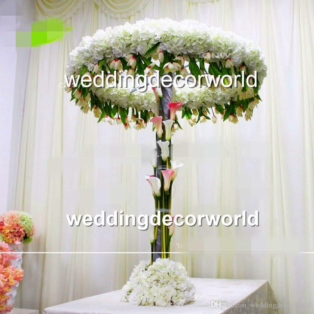 Aisle Decorations For Wedding New Style Tall And Large Table Decorations Arch Wedding Flower Table