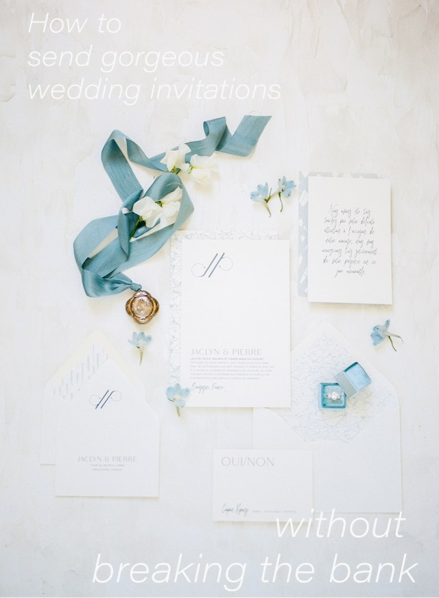 Amazing Wedding Invitations How To Send Gorgeous Wedding Invitations Without Breaking The Bank