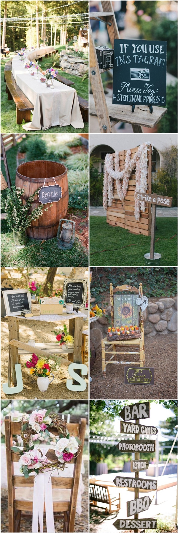 Backyard Wedding Decoration Ideas 35 Rustic Backyard Wedding Decoration Ideas Deer Pearl Flowers