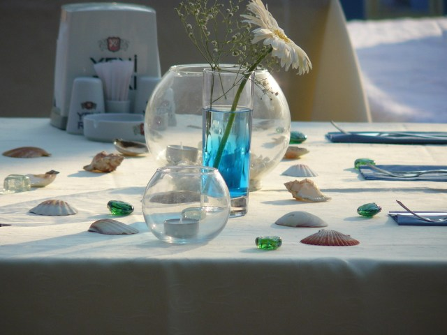 Beach Wedding Table Decorations Beach Wedding Table Decorations Wendy Ford Flickr