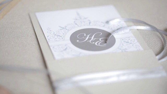 Beautiful Wedding Invitations Beautiful Wedding Invitation Rings Tapes Celebration Atmosphere