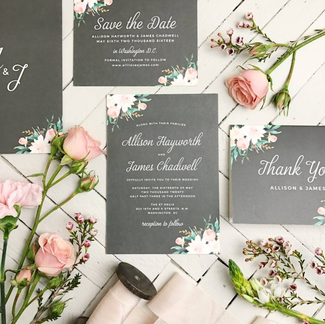 Beautiful Wedding Invitations Vendor Spotlightbeautiful Wedding Invitation Suites From Basic