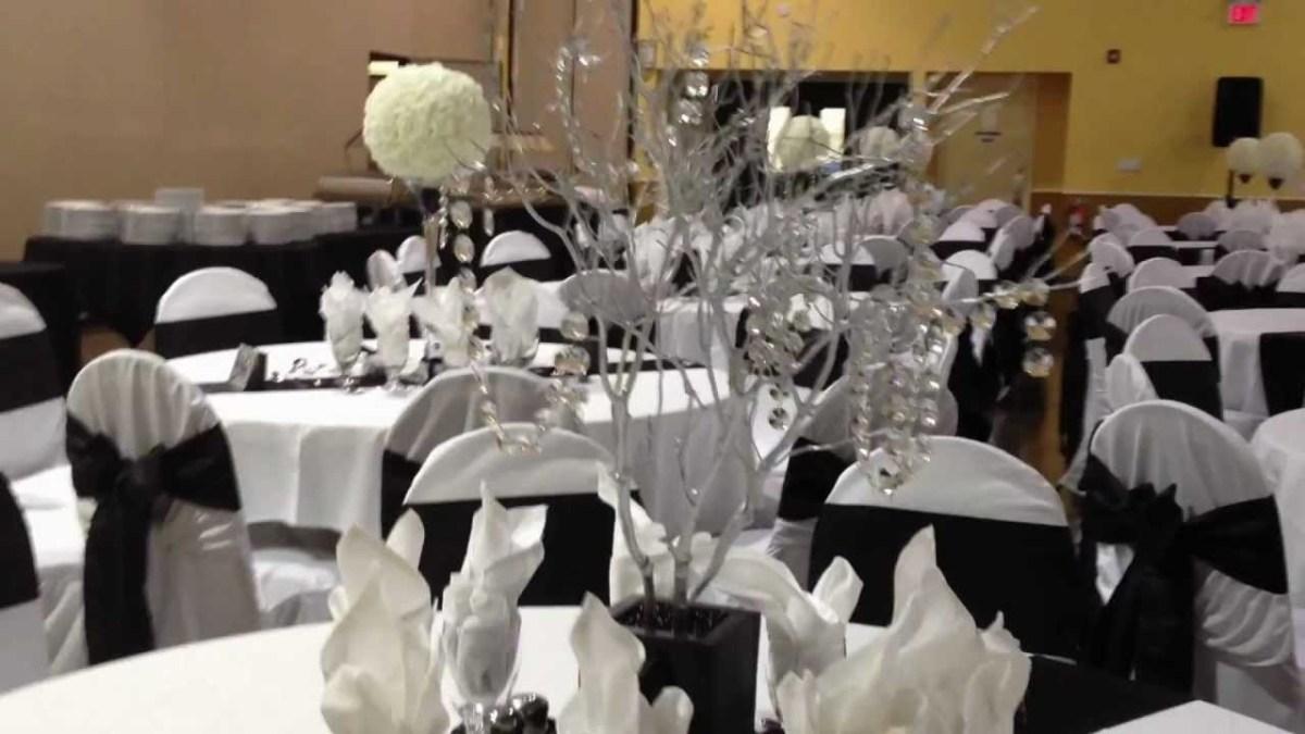 Black And White Wedding Decor 15 Black And White Wedding Decorations Pictures Ideas Black And