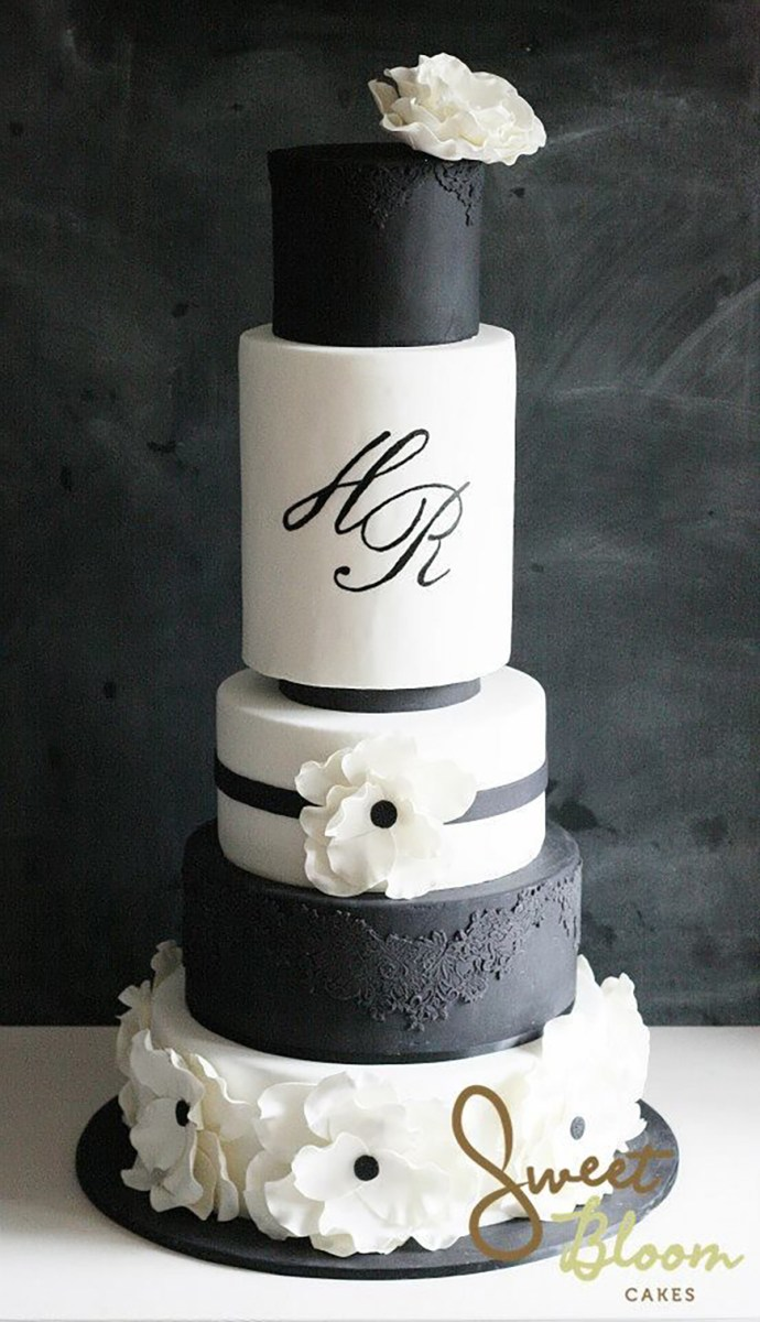Black And White Wedding Decor Black And White Wedding Theme Wedding Ideas Colour Chwv