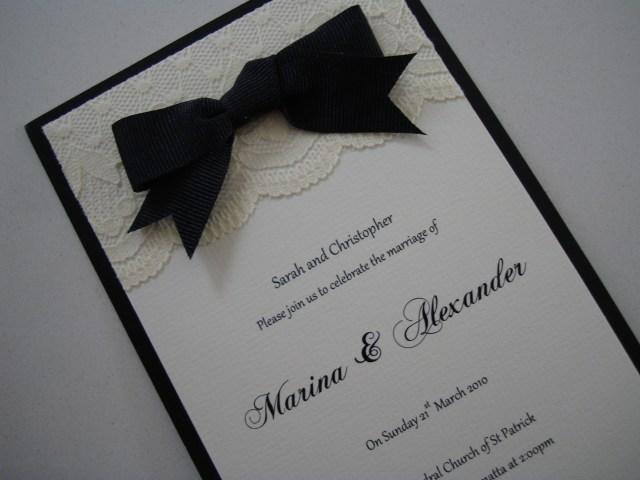 Black And White Wedding Invitations Wedding Invitations Paperlilyblog
