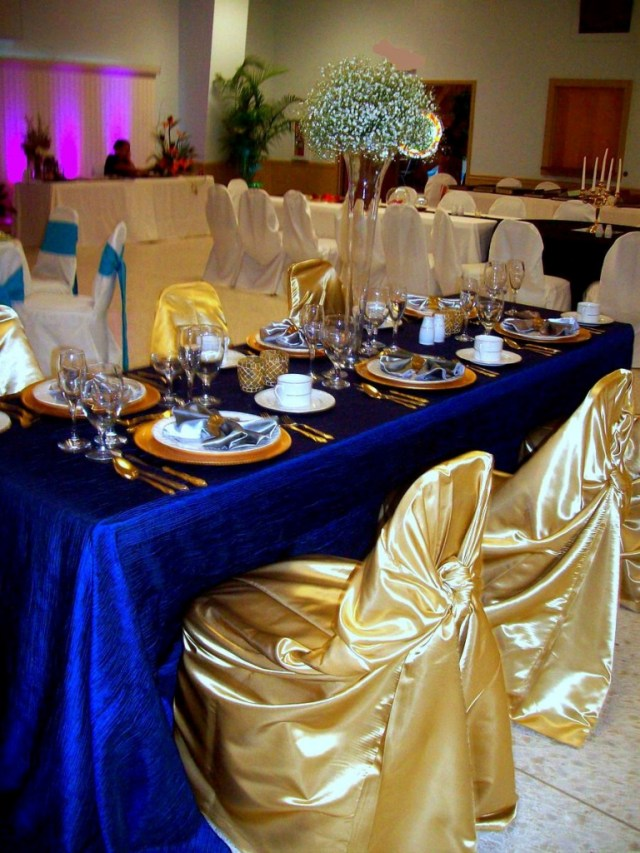 Blue And Gold Wedding Decorations Royal Blue And Gold Wedding Decorations Nucno