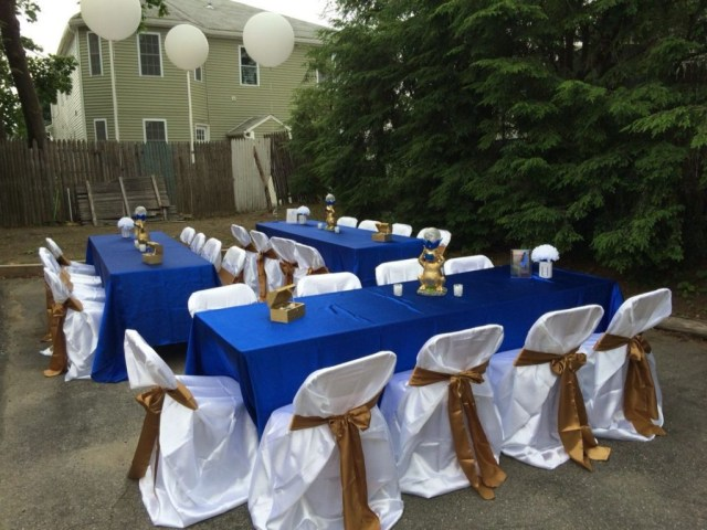 Blue And Gold Wedding Decorations Royal Blue And Gold Wedding Decorations Wedding Decor Royal Blue