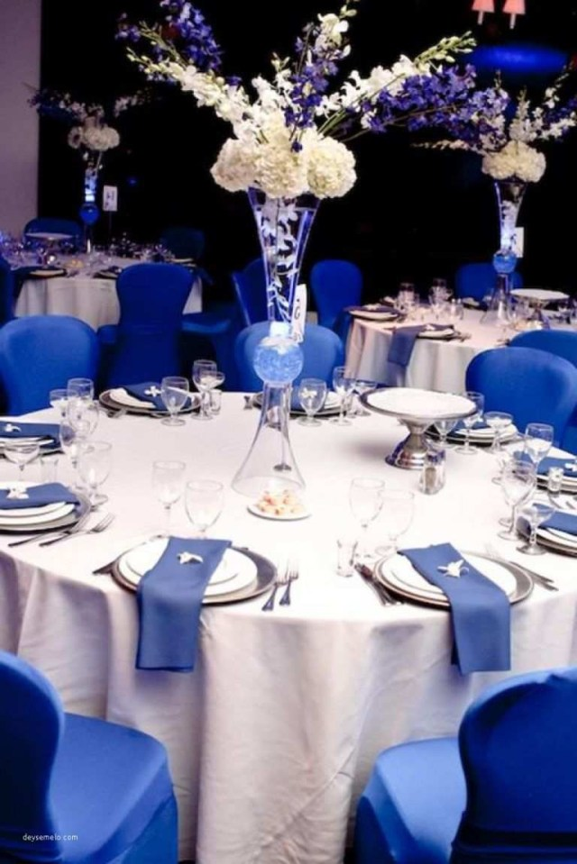 Blue And White Wedding Decor Ideas Inspiration Royal Blue Wedding Decorations Ideas Of Stunning Blue