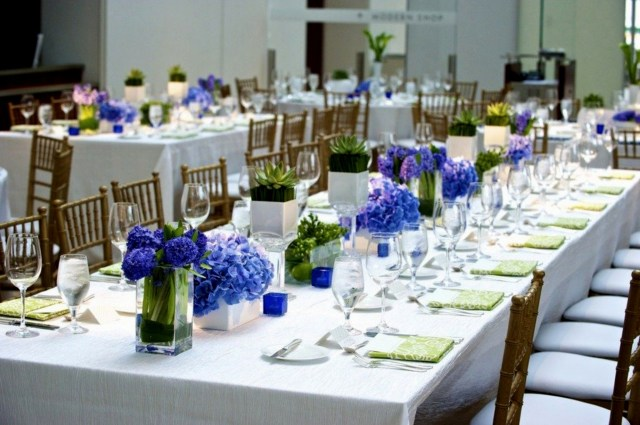 Blue And White Wedding Decor Ideas Wedding Decor Navy Blue And White Wedding Table Decoration Blue