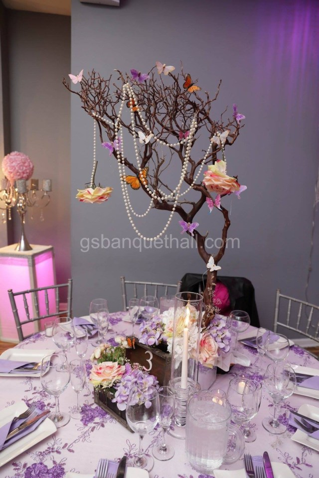 Butterfly Wedding Decorations For Tables Flowers And Butterflies Butterflies Wedding Decoration
