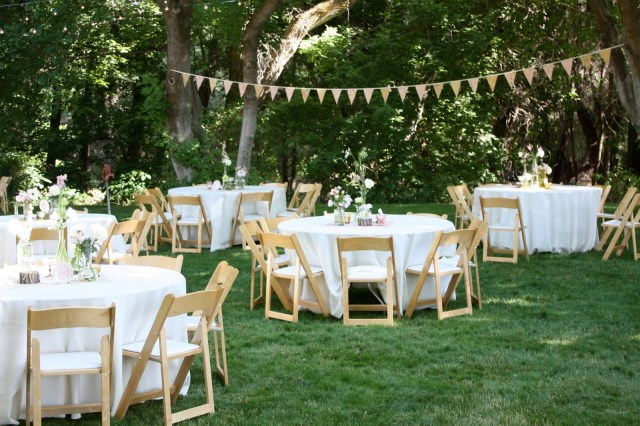 Cheap Outdoor Wedding Decorations Backyard Wedding Reception Decorations Ideas For Centerpieces For