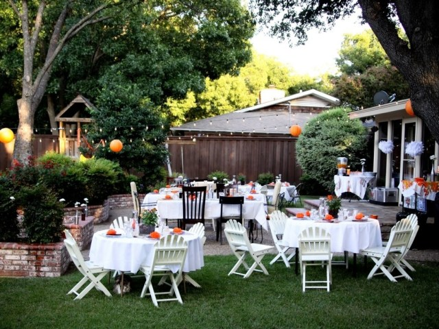 Cheap Outdoor Wedding Decorations Simple Backyard Wedding Idea Best House Design