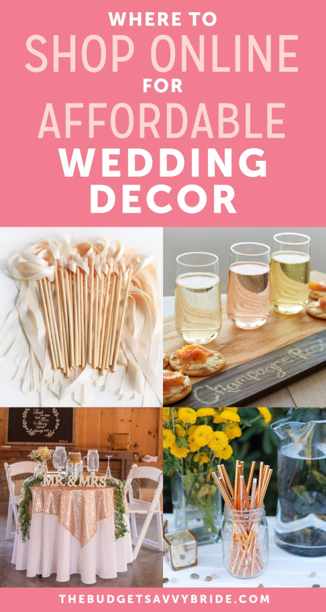 Cheap Wedding Decoration The Top Online Resources For Cheap Wedding Decor