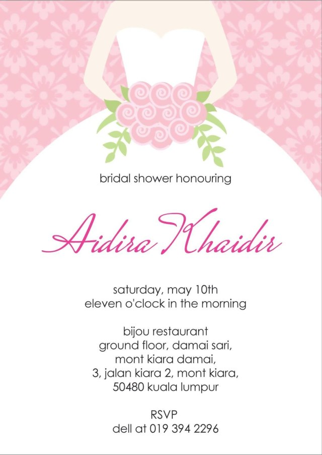 Cheap Wedding Shower Invitations Bridal Shower Menu Templates Bridal Shower Menu Templates