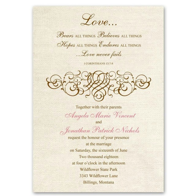 Christian Wedding Invitations Pin Gina Rogers On Weddings Idea In 2018 Pinterest Wedding
