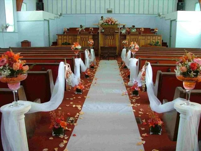 Church Wedding Decor Pew Flowers For Wedding Rustic Church Wedding Decorations
