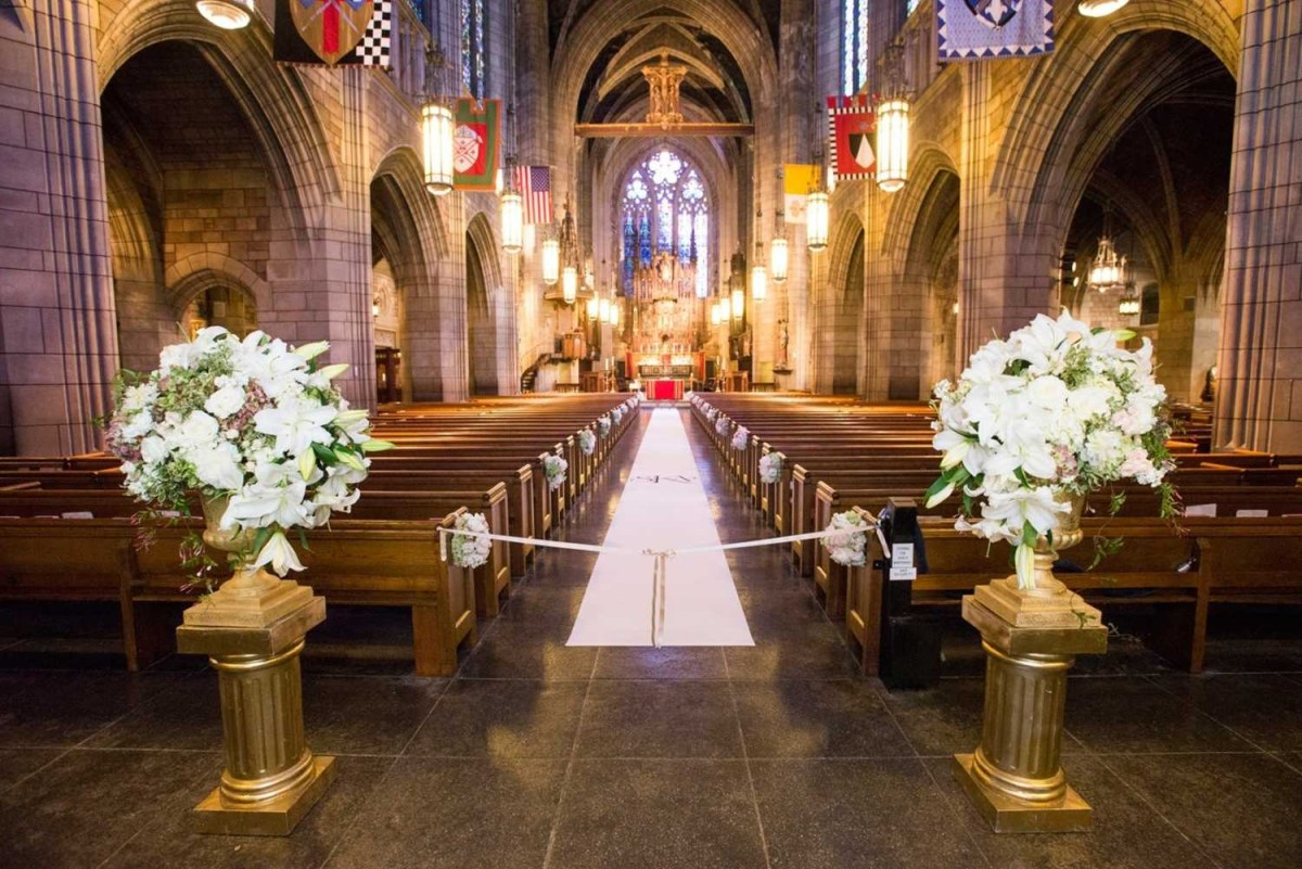 Church Wedding Decorations Ideas Aisle Church Wedding Decoration Wedding Decoration