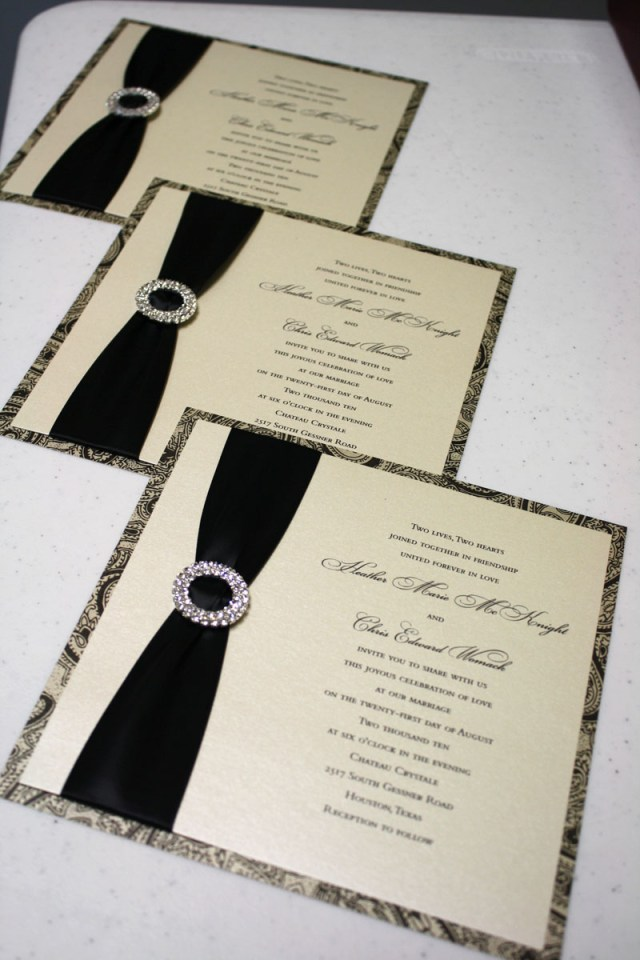 Custom Wedding Invitation Custom Wedding Invitations The Invitation Diary