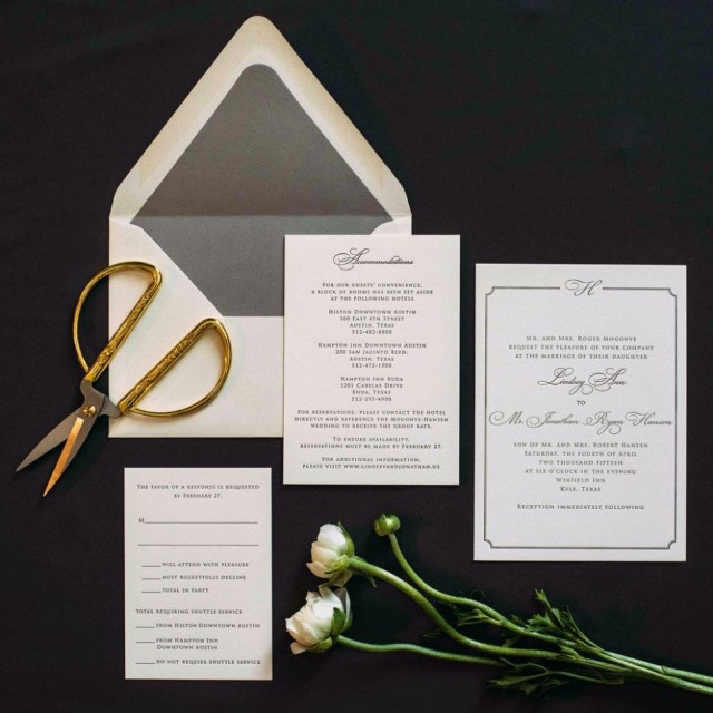 Custom Wedding Invitation Custom Wedding Invitations