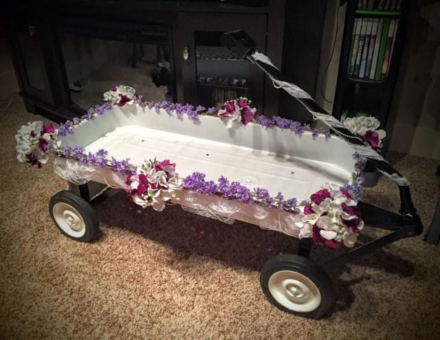 Decorating Wagon For Baby In Wedding Decorated Wagon For Wedding Inviz