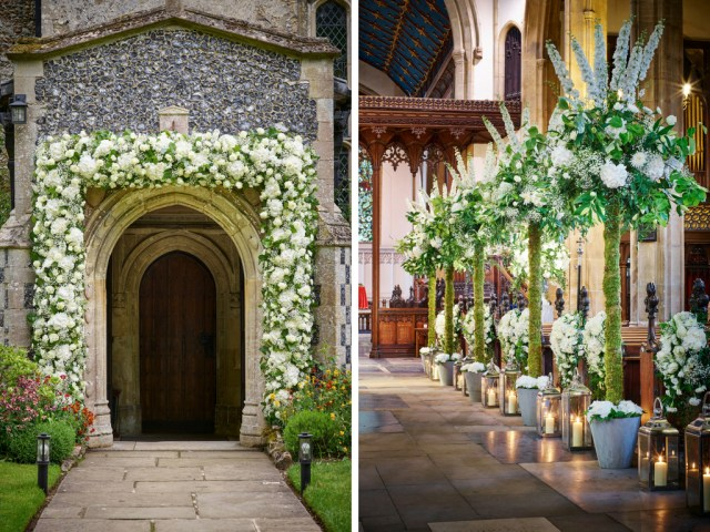 Decoration Wedding 10 Ways To Decorate Your Wedding Venue With Flowers