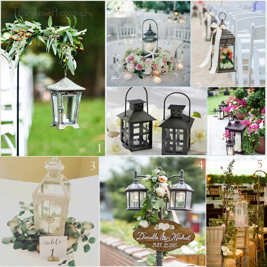 Decorative Lanterns For Weddings Outdoor Lighting Patio Lamp Post Solar Pole Lamps Automatic Lights