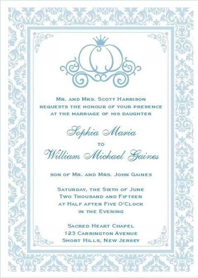 Disney Themed Wedding Invitations 206458 Disney Themed Wedding Invitations Wedding Pinterest Themed