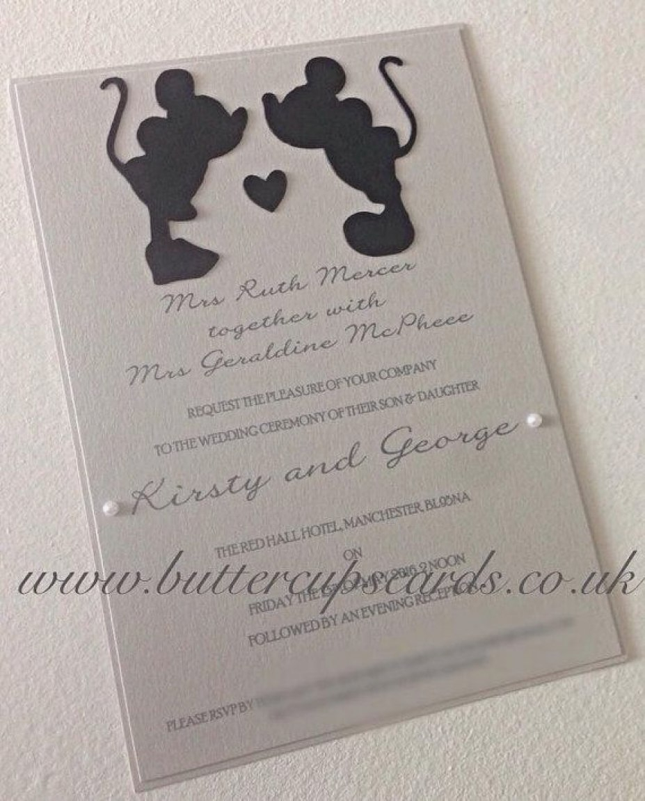 Disney Themed Wedding Invitations Disney Themed Wedding Invitations Elegant Diy Disney Invitations