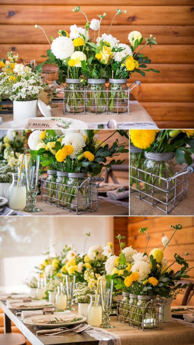 Diy Rustic Wedding Decorations 50 Stunning Diy Wedding Centrepieces Ideas And Inspiration
