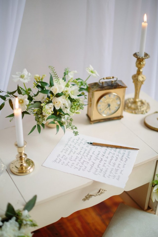 Elegant Wedding Decor Vintage Wedding Decor Elegant Wedding Magazine Feature Samantha