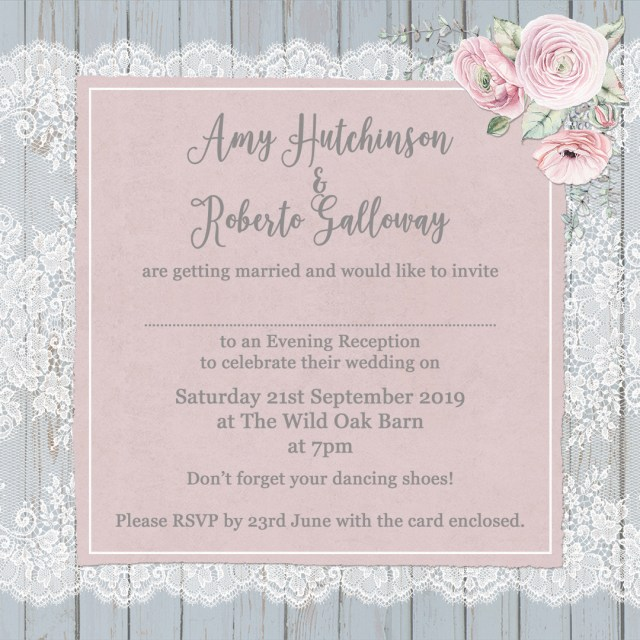 Example Of Wedding Invitation The Complete Guide To Wedding Invitation Wording Sarah Wants