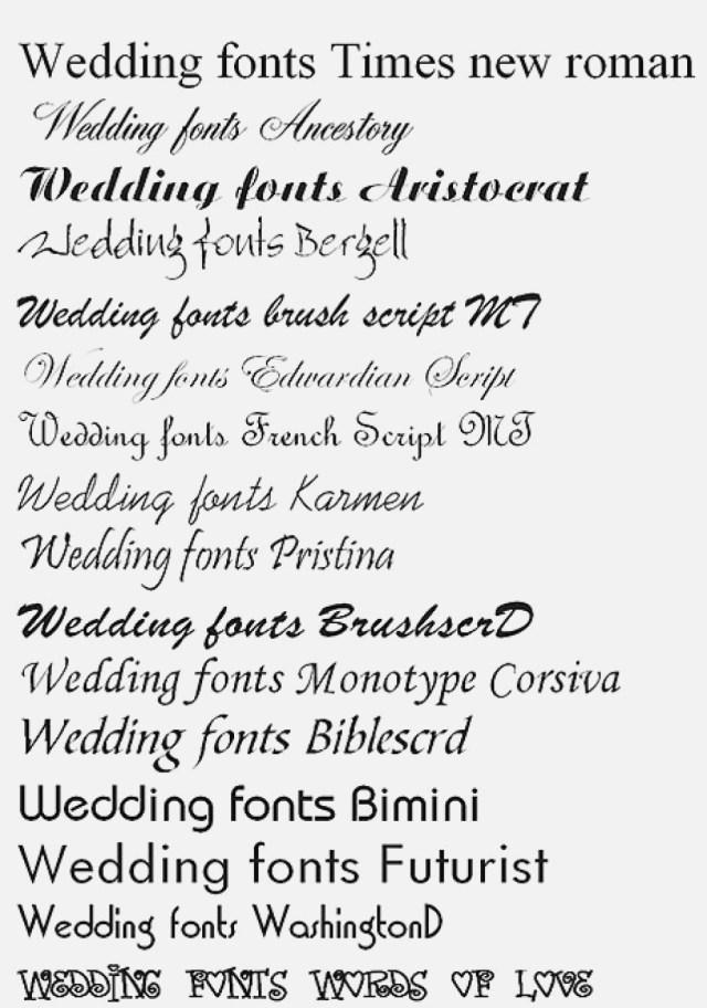 Font For Wedding Invitations Wedding Invitation Fonts Best Of Wedding Invitation Fonts In Word