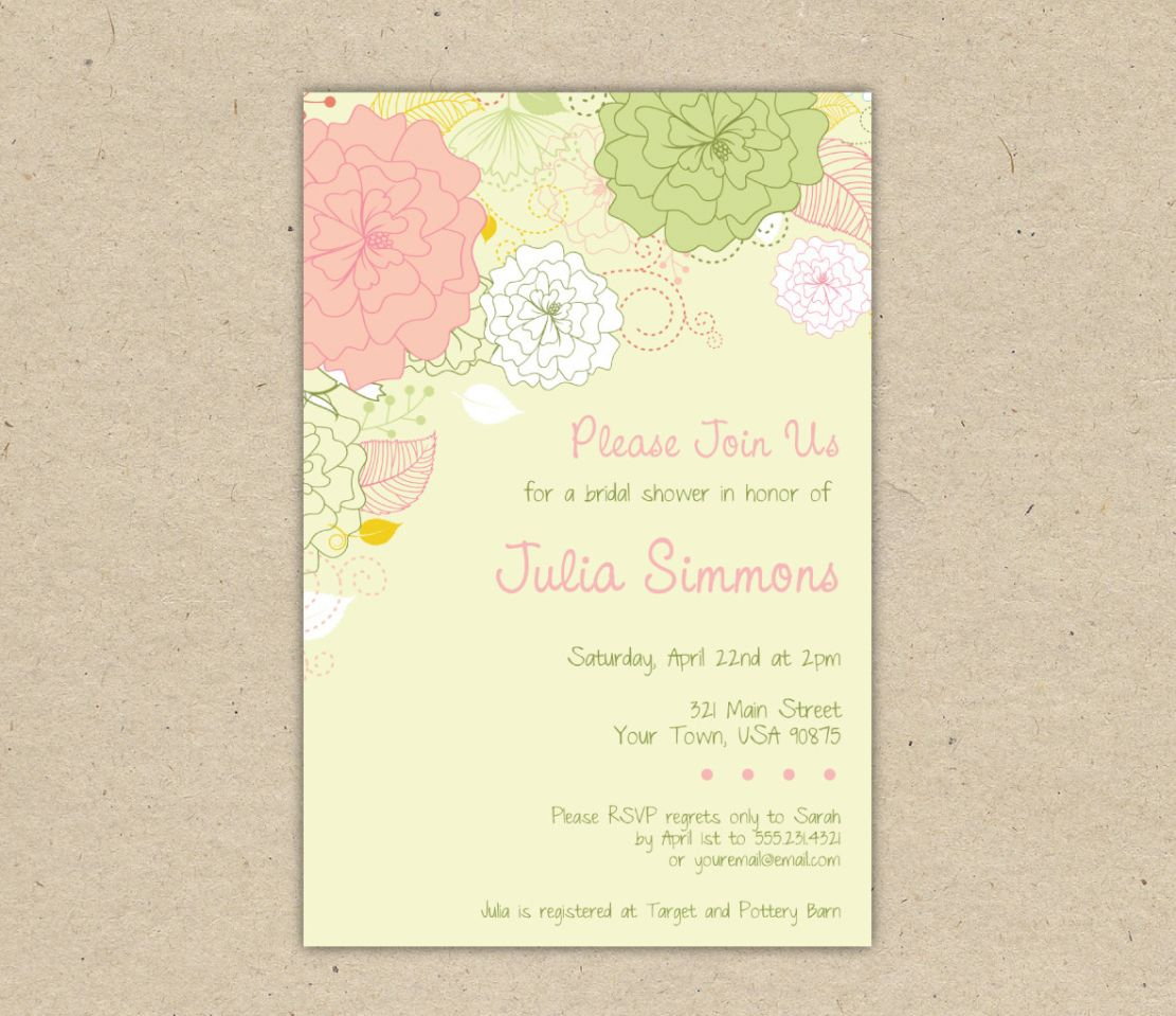 Free Printable Wedding Invitation Templates Download Bridal Shower Invitation Templates Free Download Printable Couples