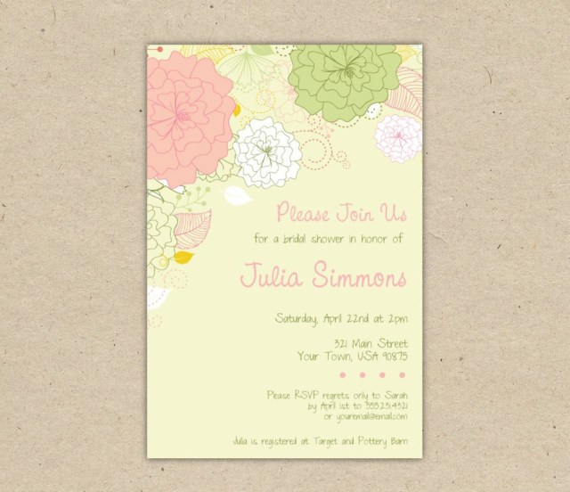 Free Printable Wedding Invitation Templates Download Bridal Shower Invitation Templates Free Download Printable Couples