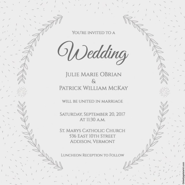 Free Printable Wedding Invitation Templates Download Free Printable Wedding Invitation Templates Greetings Island