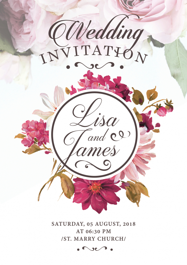 Free Printable Wedding Invitation Templates Download Printable Wedding Invitations Template Download Them Or Print