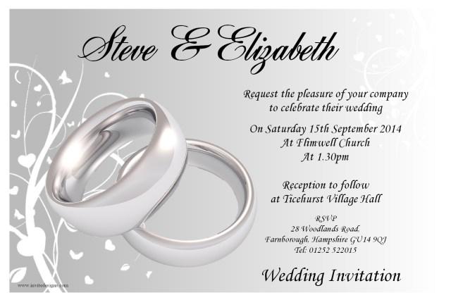 Free Wedding Invitation Printables Wedding Reception Invitation Templates Free Receipt Template